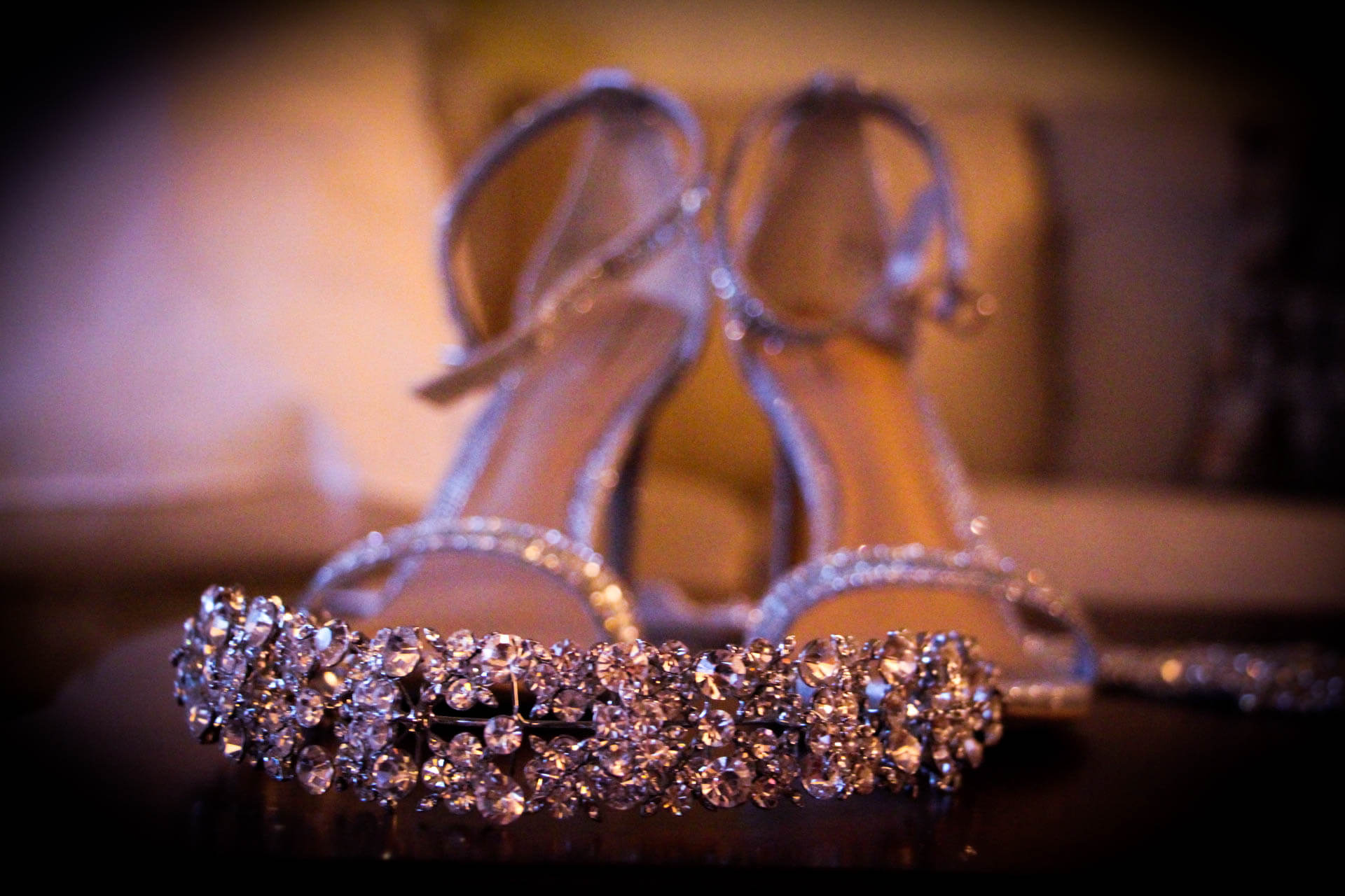 bridal jewelry and wedding sandal
