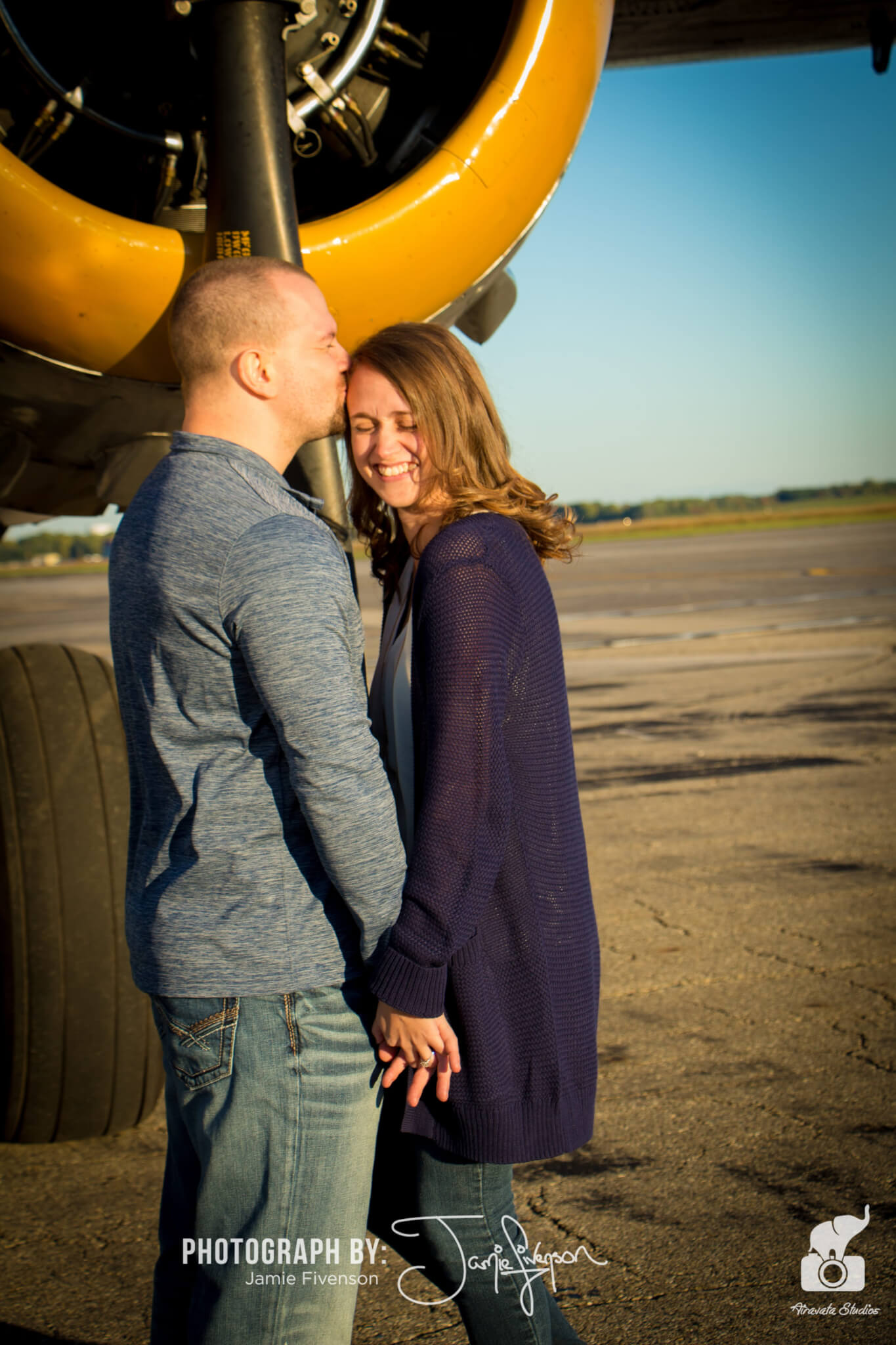 Engagement photography in Ann Arbor, Michigan